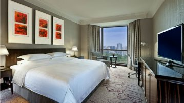 Sheraton Towers Singapore Hotel is a five star hotel