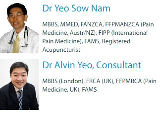 Professional Pain Specialist in Singapore